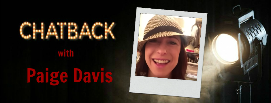 Chatback with Paige Davis