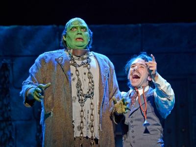017 Young Frankenstein produced by 3-D Theatricals